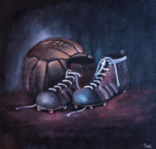 Tough as Old Boots   20'' x 20'' Box Canvas Print